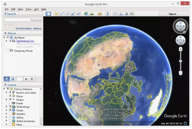 What is Google Earth? How it is work? Which satellite image