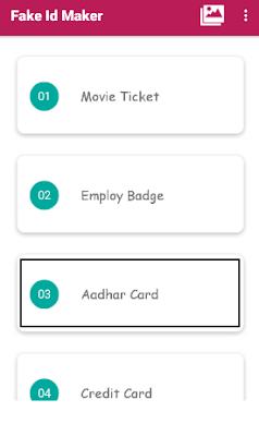 click aadhar card