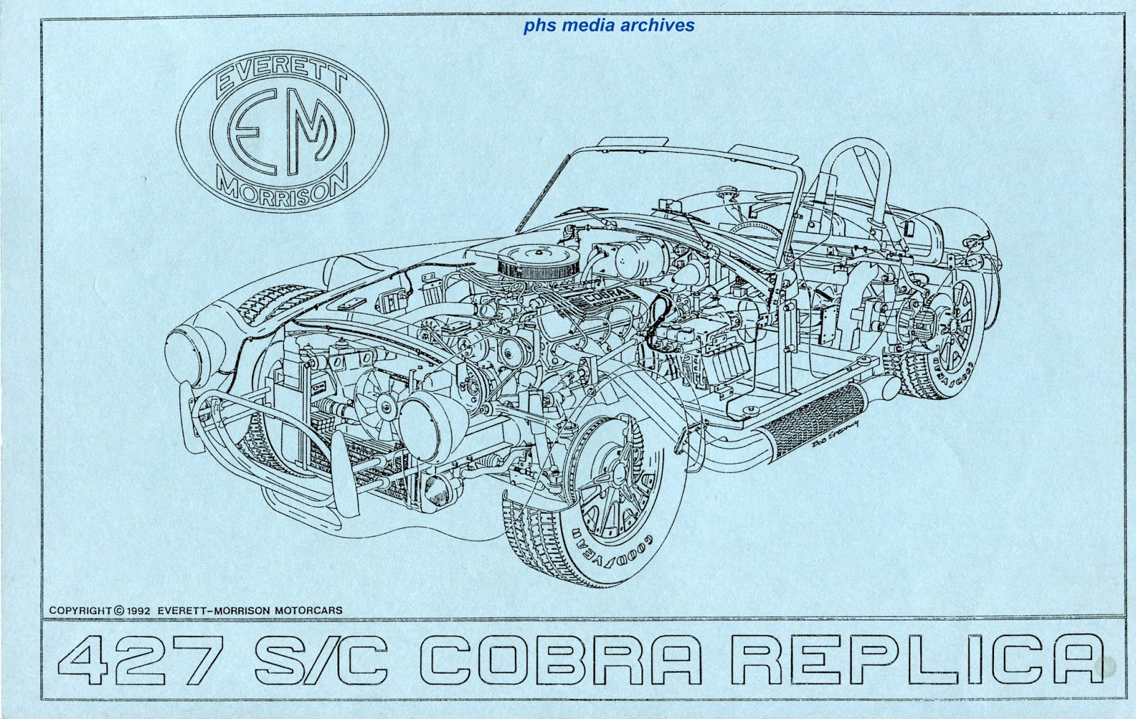 Ac Cobra Kit Car Wiring Diagram Free For You 96 Tahoe Unit America Everett Morrison 427 Sc Rh Phscollectorcarworld Blogspot Com A C Compressor
