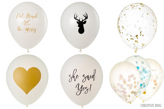 beautiful and earth-friendly balloons | Creative Bag