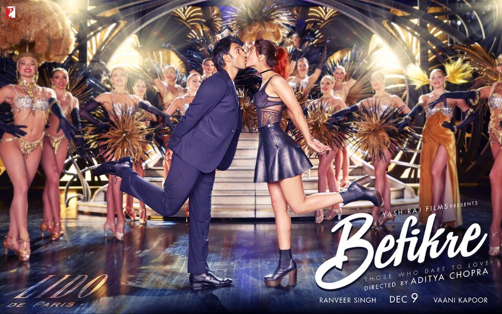 Ranveer Kapoor Upcoming movie 'Befikre' Full star cast, poster, release date info wiki, Befikre Upcoming movie of Ranveer Singh, Priyanka Chopra, Deepika Padukone New Poster & Release date