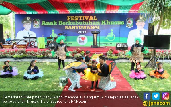 Festival Anak Berkebutuhan Khusus Banyuwangi, 10/2/2018