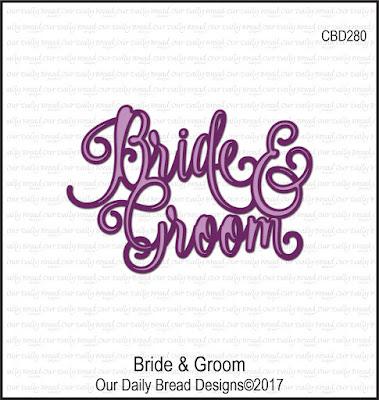Custom Die: Bride & Groom
