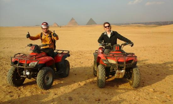 Pyramids Quad Bike Tours