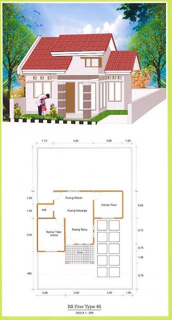 Rumah Minimalis Type 45 Di Padang