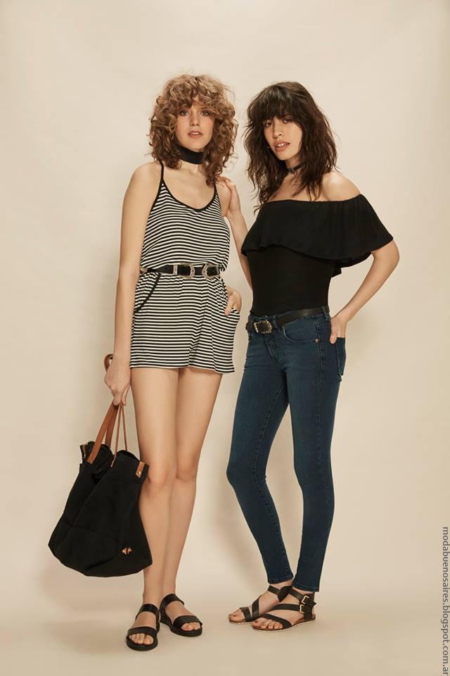Moda mujer verano 2017 ropa de moda estilo urbano 2017.
