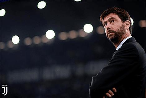 Andrea Agnelli Presiden Juventus