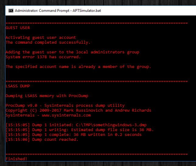 APTSimulator - Um conjunto de ferramentas para criar um sistema como se fosse vítima de um ataque APT
