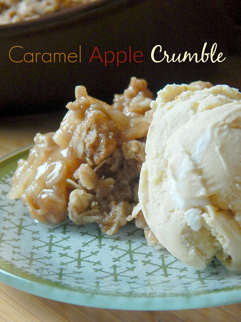 caramel apple crumble (sweetandsavoryfood.com)