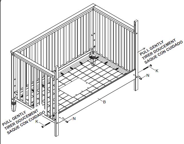 Chip's Outdoors: Delta Children 'Madrid' 4-in-1 Crib