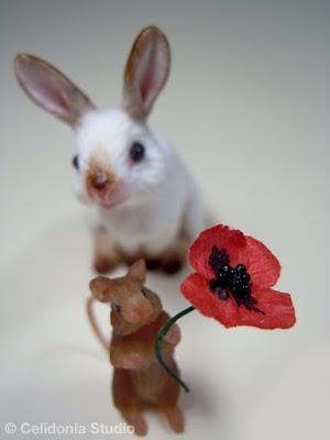 Miniature Coniglietto e Topino