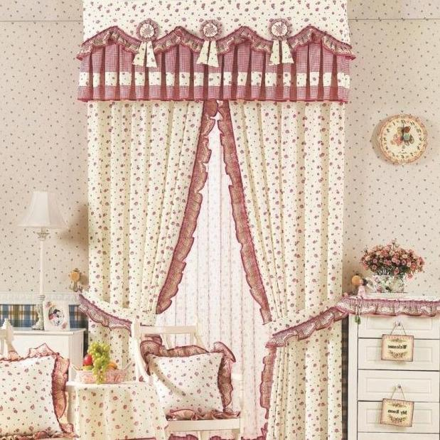 vintage living room curtain ideas