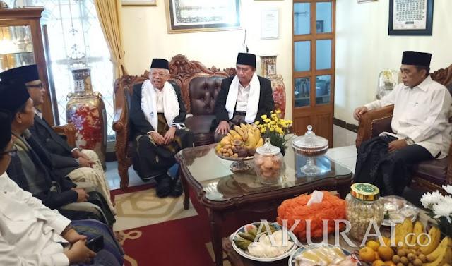 Selain Konsolidasi, Ma'ruf Amin Punya Misi Khusus di Sukabumi