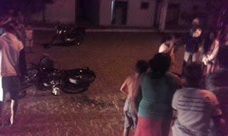 Colisão entre motocicletas deixa um morto e outro gravemente ferido em São Vicente do Seridó