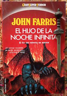 Portada del libro El hijo de la noche infinita, de John Farris
