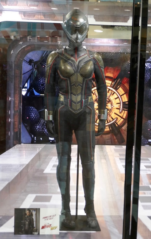 Evangeline Lilly Ant-man and Wasp hero suit