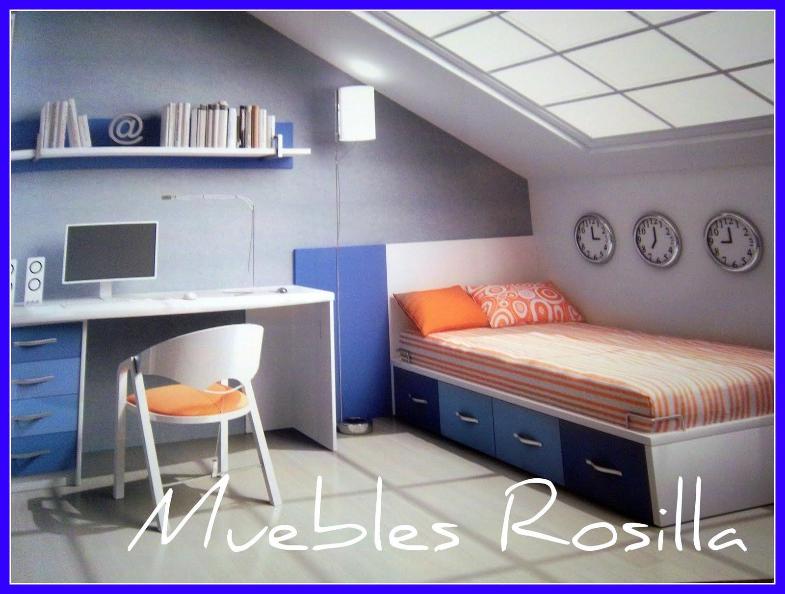 Dormitorios Juveniles De Calidad.Muebles Rosilla Hervas Dormitorios Juveniles