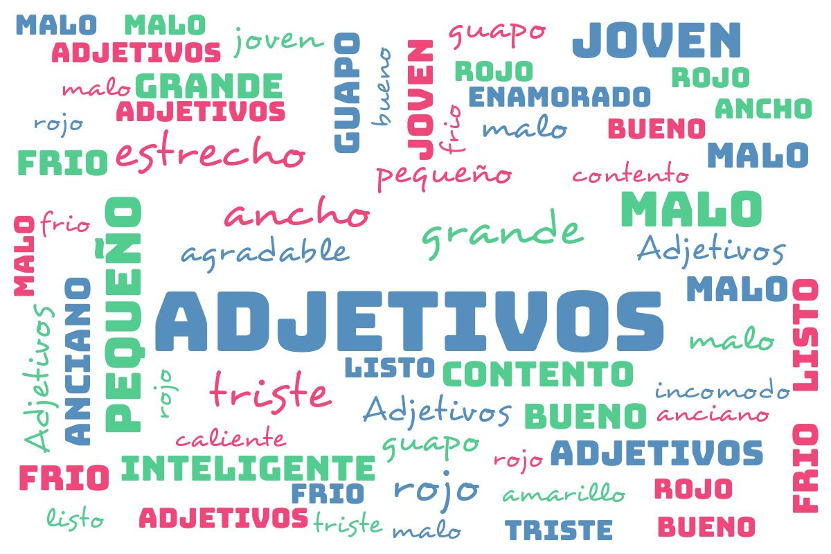 El cole de infantil en Fuente Grande : Adjetivos
