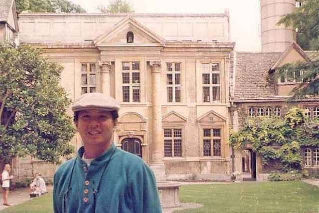 Marcos attended the Oxford University.
