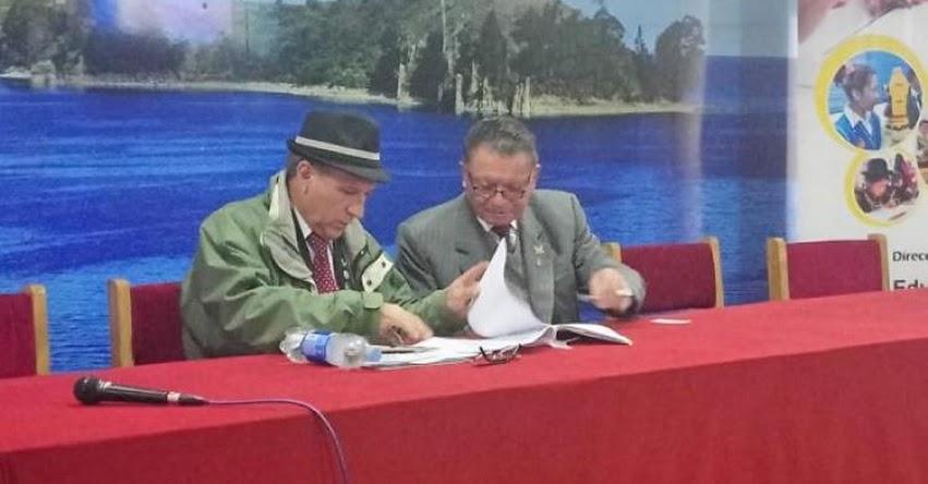 FONDEP y Gobierno Regional de Puno firmaron convenio - www.fondep.gob.pe