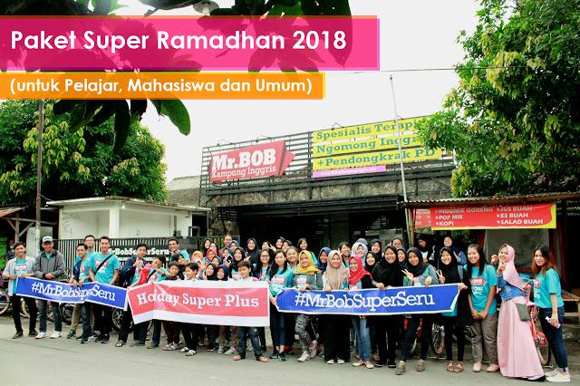 kampung inggris pare kediri mr bob paket super ramadhan