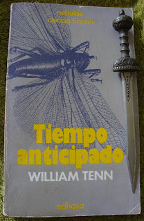 Portada del libro Tiempo anticipado, de William Tenn