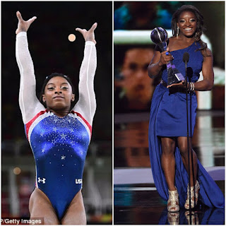 Simone Biles wins the best female athlete at the 2017 ESPY's