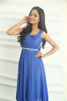Divya Nandini stunning Beauty in blue Dress at Trendz Exhibition Launch ~  Celebrities Galleries 042.JPG