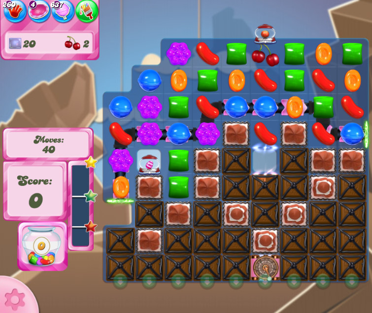 Candy Crush Saga level 2616