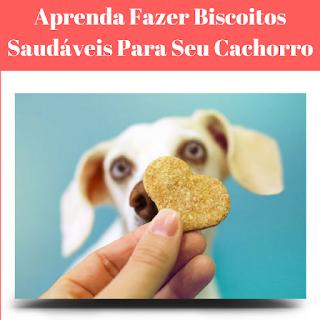 biscoito para seu cachorro