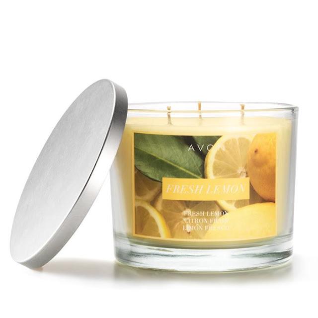 Fresh Lemon Candle   Avon