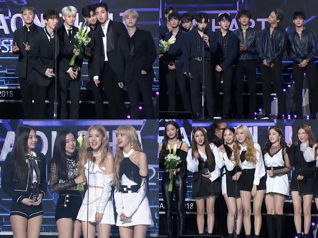 Daftar Pemenang Gaon Chart Music Awards 2019