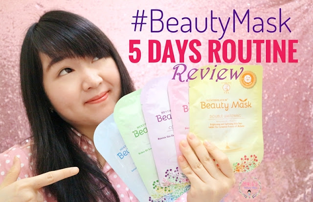 Mentholatum Beauty Mask #Beautymask5DaysRoutine Review
