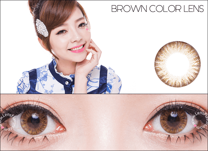 vassen rainbow eyes brownish hazel circle lenses