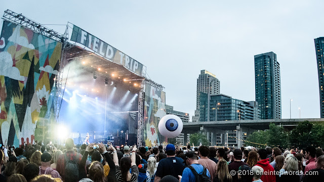 Yeah Yeah Yeahs on the Garrison Stage at Field Trip 2018 on June 3, 2018 Photo by John Ordean at One In Ten Words oneintenwords.com toronto indie alternative live music blog concert photography pictures photos