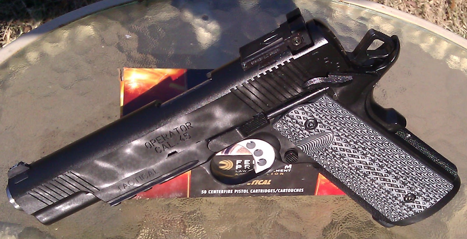 Mrgunsngear's Blog: Springfield Armory TRP 1911 Review
