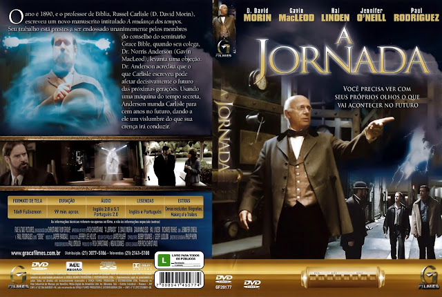 Capa DVD A Jornada Uma Viagem pelo Tempo