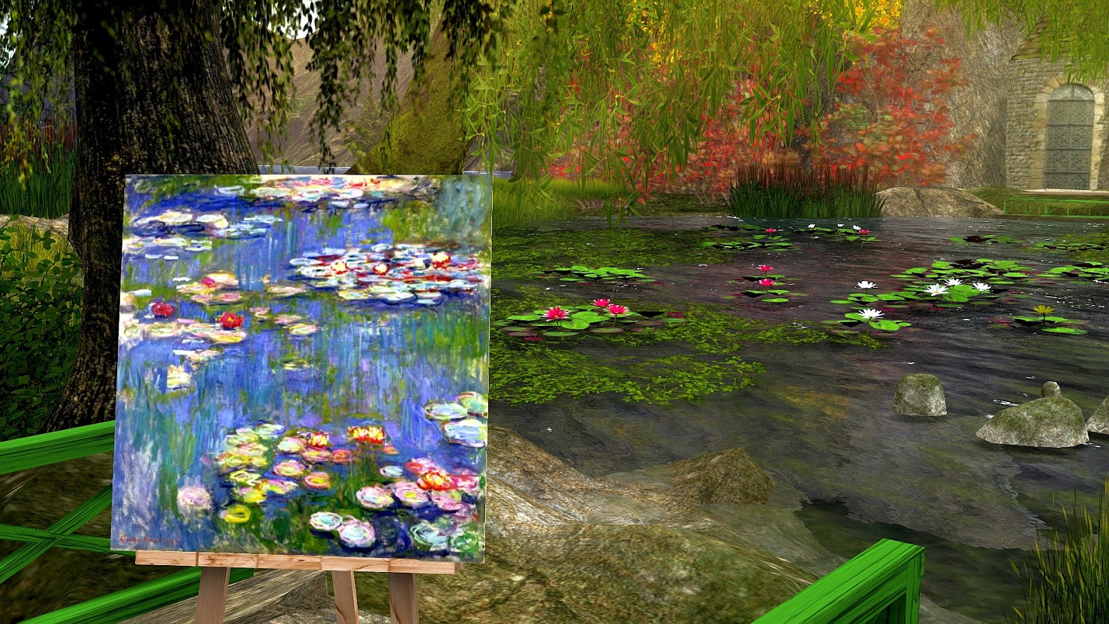 Echt Virtuell: Shaula Kingdom: Haus und Garten von Claude Monet
