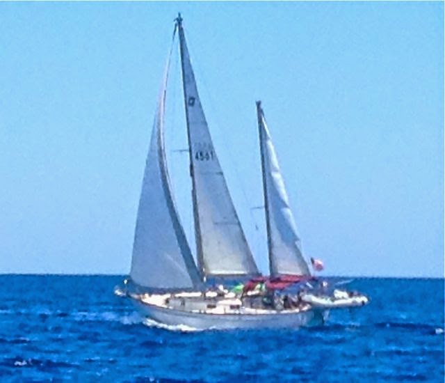 Pearson 365 ketch sailboat - cruising life, cruising destinations, bahahams