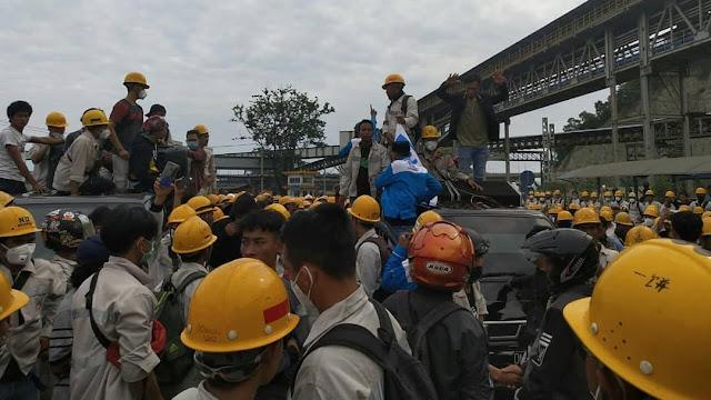 Polisi Tahan Pembuat Hoaks Terkait Demo TKA China di Morowali