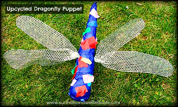 Sun Hats Amp Wellie Boots Dragonfly Puppet Made From