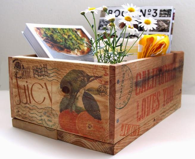 DIY | Caja de madera de palet