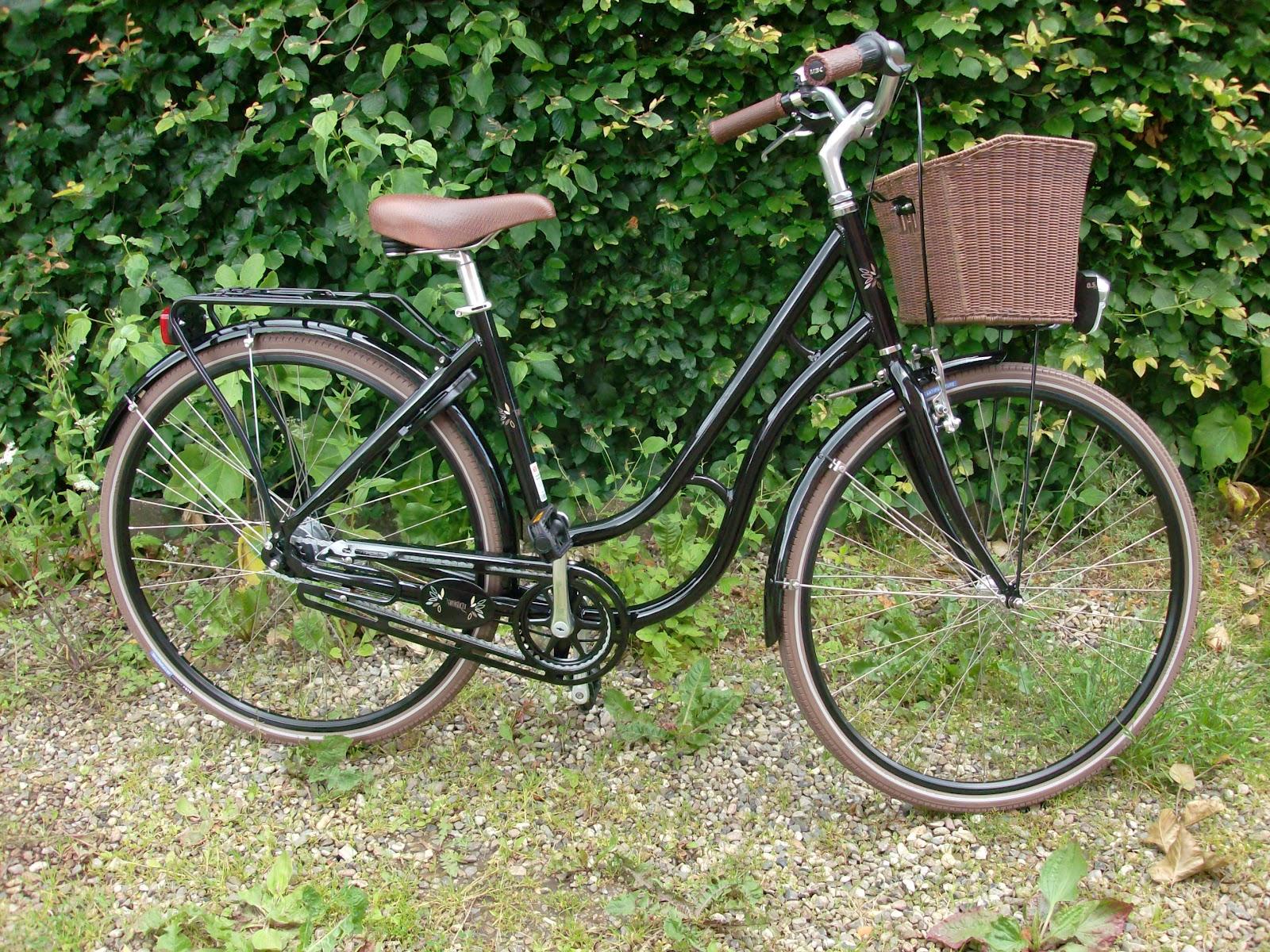 Reke: Jeg er så glad for min cykel...