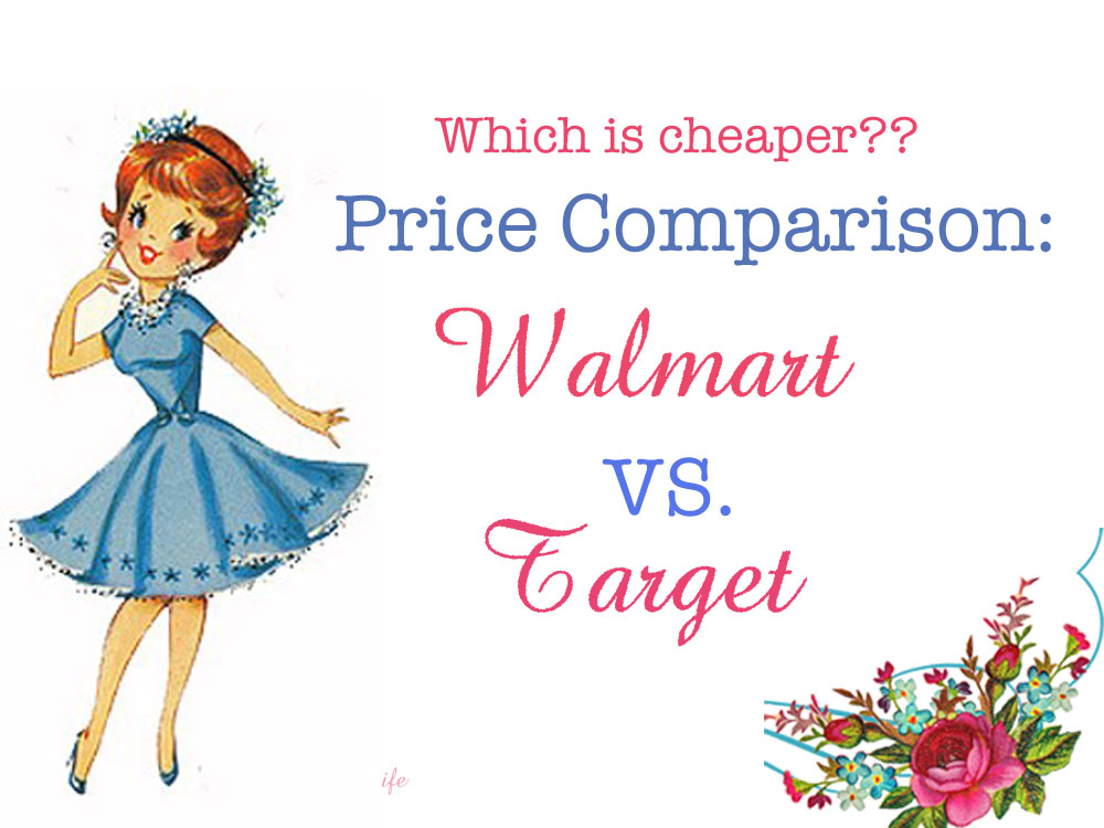 walmart vs target comparison