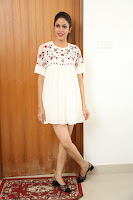 Lavanya Tripathi in Summer Style Spicy Short White Dress at her Interview  Exclusive 250.JPG