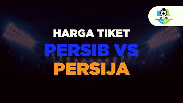Gambar Harga tiket persib vs persija 23 September 2018
