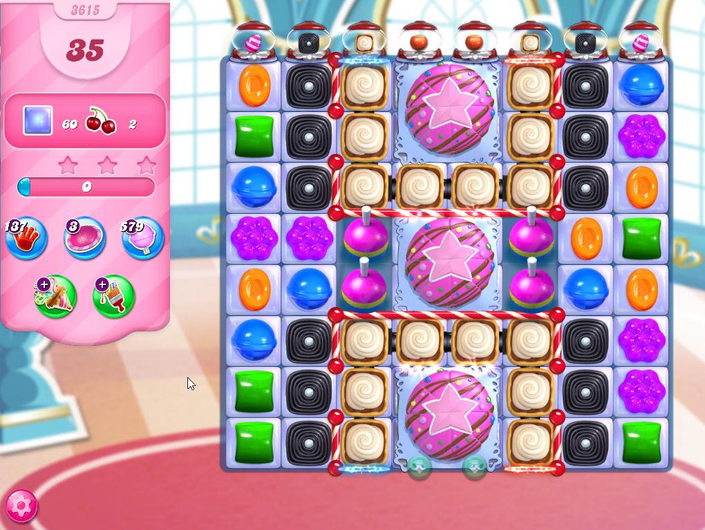 Candy Crush Saga level 3615