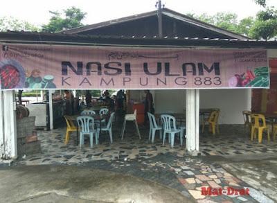 Tempat Makan Best di Miri Sarawak Restoran Ulam Kampung
