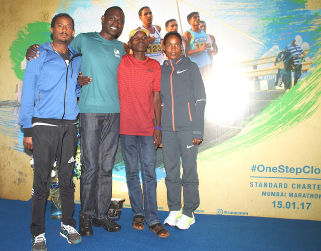 Matebo looking for fast times and the biggest payday of his career at the Standard Chartered Mumbai Marathon 2017