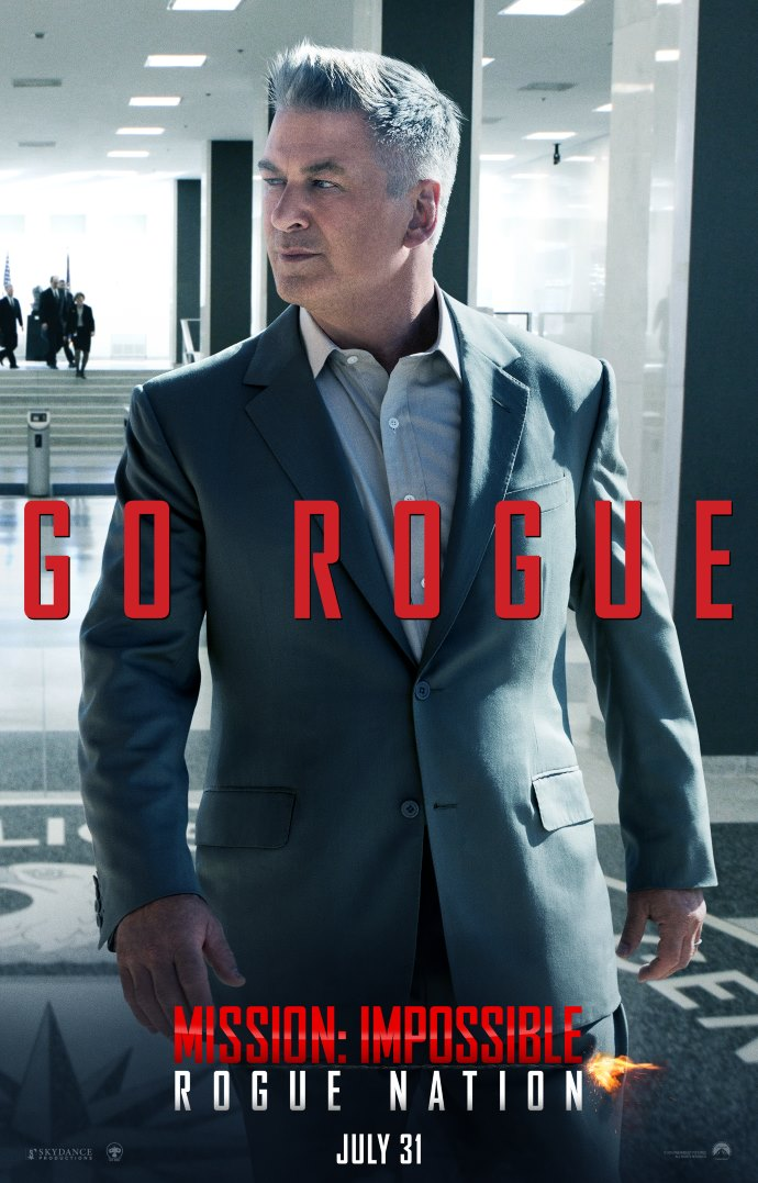 Poster 5: Mission Impossible - Rogue Nation